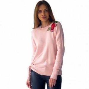 Comprar Suéter Mujer Detalle Flores Bordadas Rack & Pack