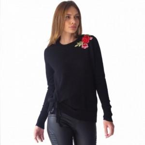 Suéter Mujer Detalle Flores Bordadas Rack & Pack imagen secundaria