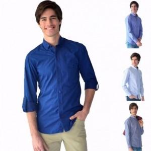 c13a45f81448f Agregar a la lista de deseos. Vista rápida. Camisa Casual Vestir Hombre  Manga Larga Algodón Rack   Pack.  399.00