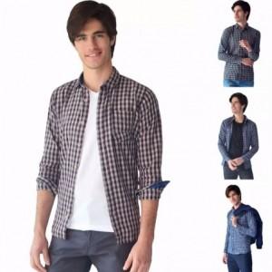 Comprar Camisa Casual Hombre Algodón Slim Fit Rack & Pack