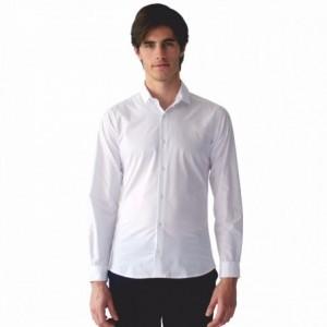 Camisa Blanca Casual Hombre Básico Cuello Rack & Pack imagen secundaria
