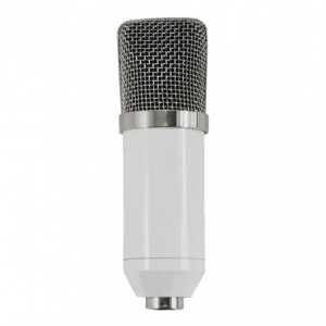 Kit Microfono Condensador Bm700 Youtuber Blanco imagen secundaria