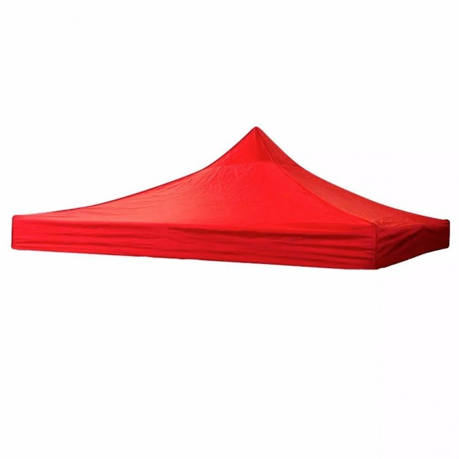 Lona Carpa 3m X 3m Rojo
