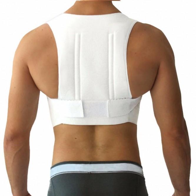 Corrector Postura Bioconfort Chaleco Unisex Espalda Camiseta Mediano