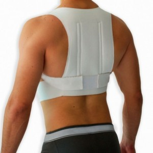 Corrector Postura Bioconfort Chaleco Unisex Espalda Camiseta Mediano imagen secundaria