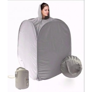 Baño Vapor Sauna Portatil Spa Personal Cuidado Belleza  Car imagen secundaria