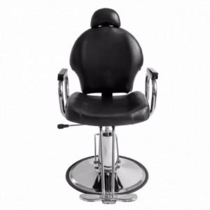Silla Sillon Reclinable Barberia Salon Estetica Peluqueria imagen secundaria