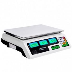 Comprar Bascula Digital 40 Kg Comercial Negocio Peso