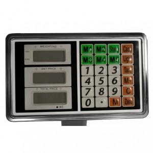 Bascula Electrica Plataforma 200 Kg Indicador Comercial imagen secundaria