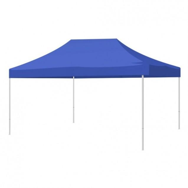 Carpa Toldo 2x3 Reforzado Plegable Impermeable Jardin Azul