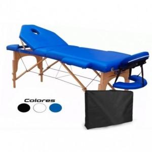 Cama Masaje Spa Reclinable Estuche Portatil Profesional Azul imagen secundaria