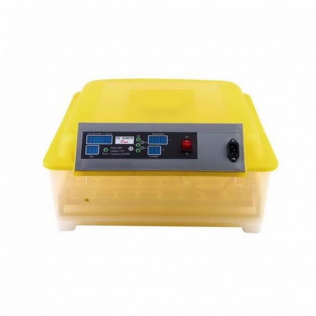 Incubadora Automatica Huevos 48 Pollos Volteador