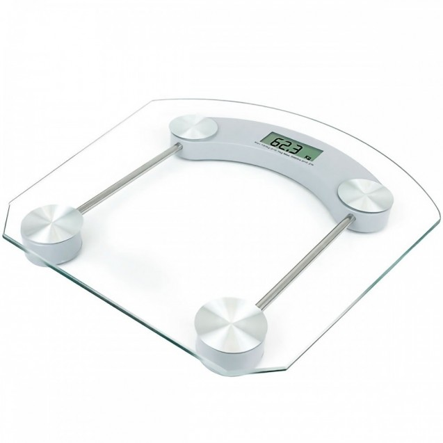 Bascula Digital Cristal Templado Vidrio Personal 180kg Baño