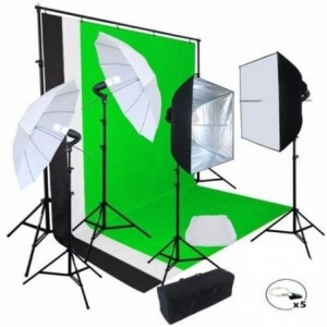 Comprar Kit Fotografico Estudio Profesional Fotografia Set Softbox