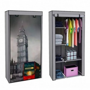 Comprar Closet Ropero Big Ben Armable Portatil Entrepaños