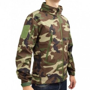 Chamarra Táctica Militar Camuflaje Hombre imagen secundaria