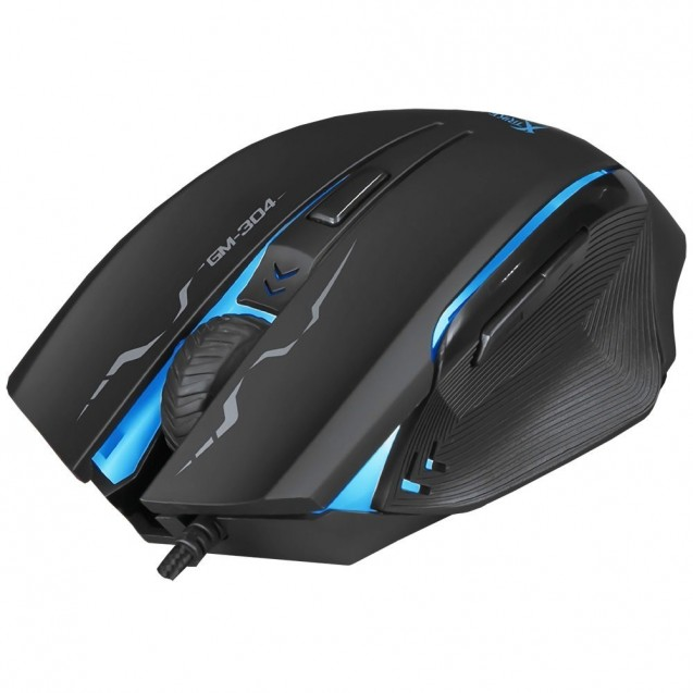 Mouse Gamer Optico Xtrike Me Retroiluminado 6 Botones Gm-304