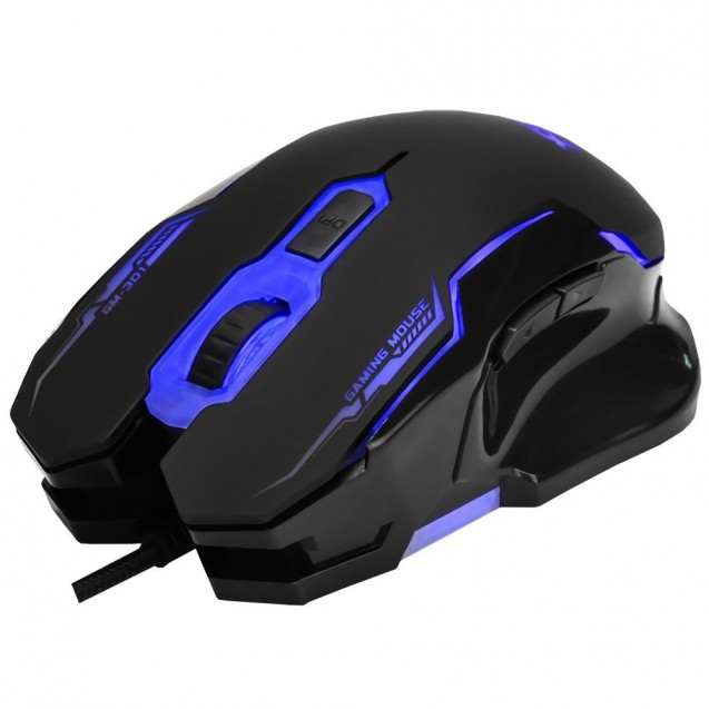 Mouse Gamer Xtrike Me Retroiluminado 6 Botones Gm-301