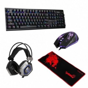 Comprar Kit Gamer Profesional Teclado+ Mouse+ Pad+ Headset Xtrike Me