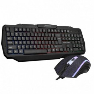Comprar Kit Gamer Basico Pc Teclado Membrana+ Mouse Optico Xtrike Me