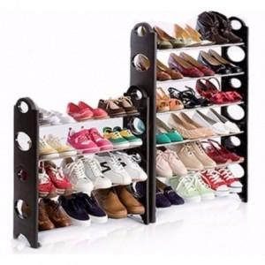 Comprar Zapatera Rack 10 Niveles 30 Pares Zapatos Repisa Organizador