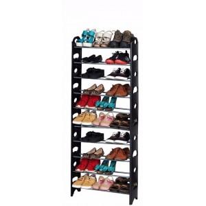 Zapatera Rack 10 Niveles 30 Pares Zapatos Repisa Organizador imagen secundaria