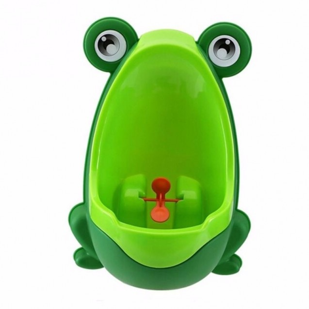 Mingitorio Entrenador Baño Infantil Rana Verde Niño x2