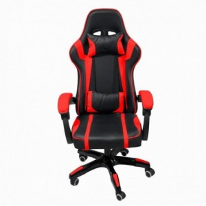 Silla Gamer Audiotek Gaming Roja Pc Ergonomica Reclinable