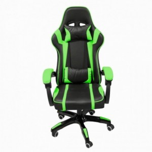 Silla Gamer Gaming Consola Pc Ergonomica Reclinable Verde