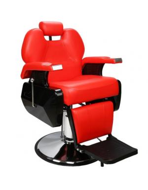 Comprar Sillon Barberia Bioconfort Peluqueria Estetica Barbero Rojo