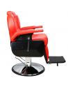 Sillon Barberia Bioconfort Peluqueria Estetica Barbero Rojo