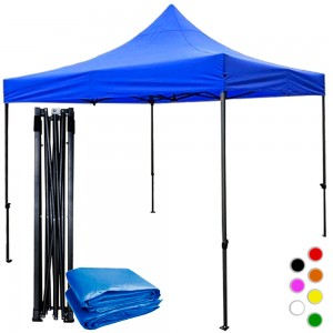 Comprar Carpa Toldo 3x3 Reforzado Azul Plegable Impermeable Jardin