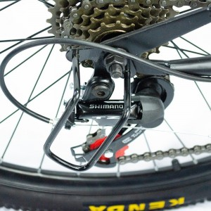 Bicicleta Plegable Montaña Roja R26 21 Vl Centurfit Freno Disco imagen secundaria