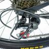 Bicicleta Plegable Montaña Roja R26 21 Vl Centurfit Disco