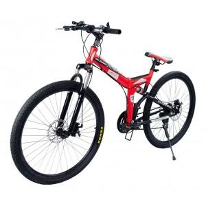 Comprar Bicicleta Montaña Roja Rodada 26 - 21 Velocidades Centurfit