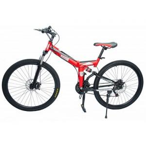 Bicicleta Montaña Roja Rodada 26 - 21 Velocidades Centurfit imagen secundaria