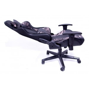 Silla Gamer Audiotek Gaming Ergonomica Reclinable Camuflaje imagen secundaria