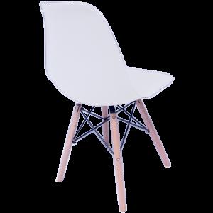 Sillas Eames Minimalista Moderna Blanca imagen secundaria