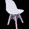 Sillas Eames Minimalista Moderna Blanca