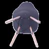 Sillas Eames Minimalista Moderna Negra
