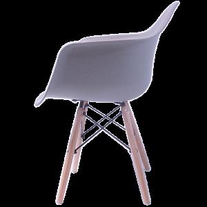 Sillas Eames Minimalista Brazos Gris imagen secundaria