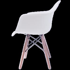Sillas Eames Minimalista Brazos Blanca imagen secundaria