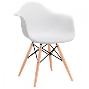 Comprar Sillas Eames Minimalista Brazos Blanca