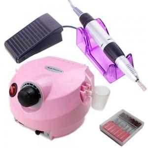 Comprar Pulidora Drill Esmeril Uñas Torno Profesional + Puntas Rosa
