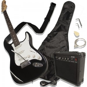 Comprar Guitarra Eléctrica Tipo Stratocaster Amplificador Accesorios