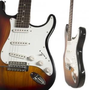 Guitarra Eléctrica Tipo Stratocaster Amplificador Accesorios imagen secundaria
