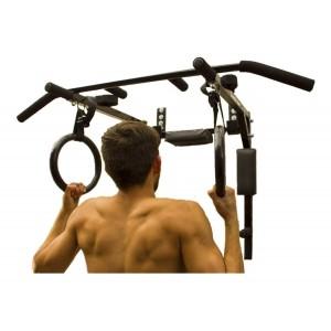 Barra Dominadas 8 En 1 Fondos Abdomen Box Poleas Fitness imagen secundaria