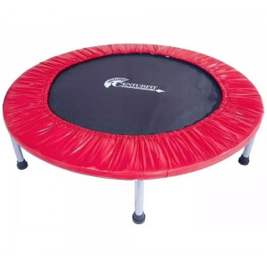 Mini Trampolin Brincolin Aerobico Fitness Gym 40plgs Rojo