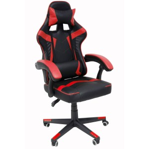 Comprar Silla Gamer Audiotek Gaming Roja  Consola Pc Ergonomica Reclinable