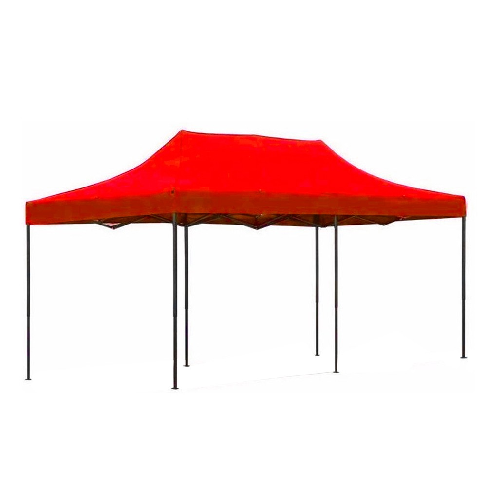 Carpa Toldo 2x3 Plegable Reforzado Rojo